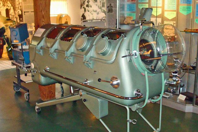 respirator, żelazne płuca, respirator