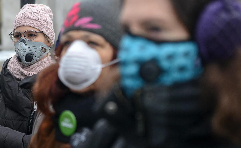 maski antysmogowe, smog, czyste powietrze, pochp,
