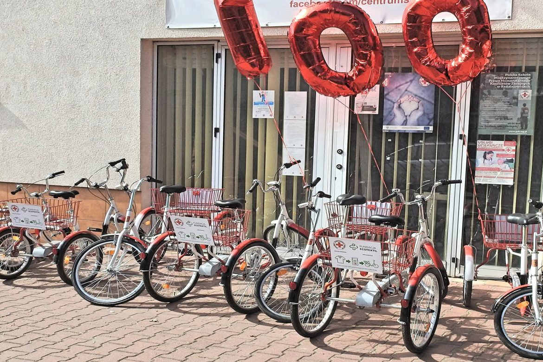 rower rehabilitacyjny, trójkołowiec, warszawa, wypożyczalnia, ecotextil, fundacja, pacjent, niepełnosprawny,