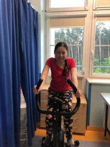 Kasia Szymczyk, rehabilitacja, rower, mukowiscydoza, transplantacja, płuca, przeszczep, szczecin