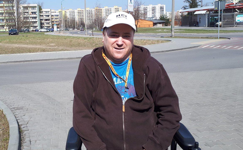 mariusz rokicki, życie po skoku, wózek, złamany kręgosłup, wywiad