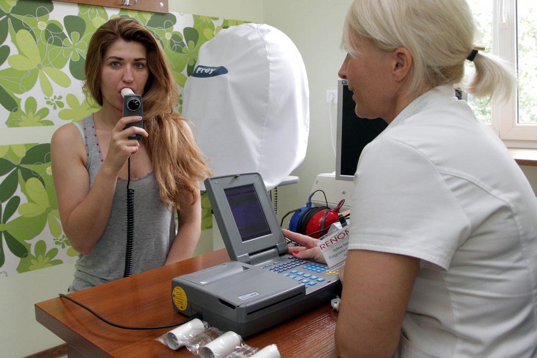 spirometria, dni spirometrii, lista placówek, pochp, astma, alergia, badanie