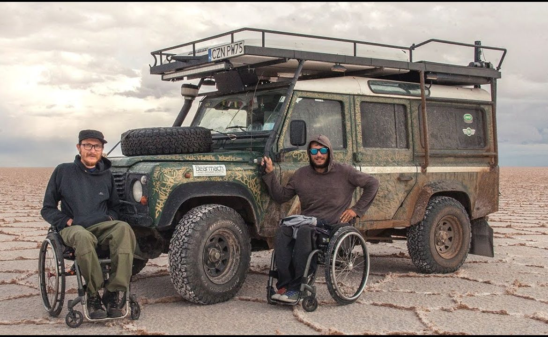 defender, michał woroch, wheelchairtrip, wyprawa, podróż, styl życia
