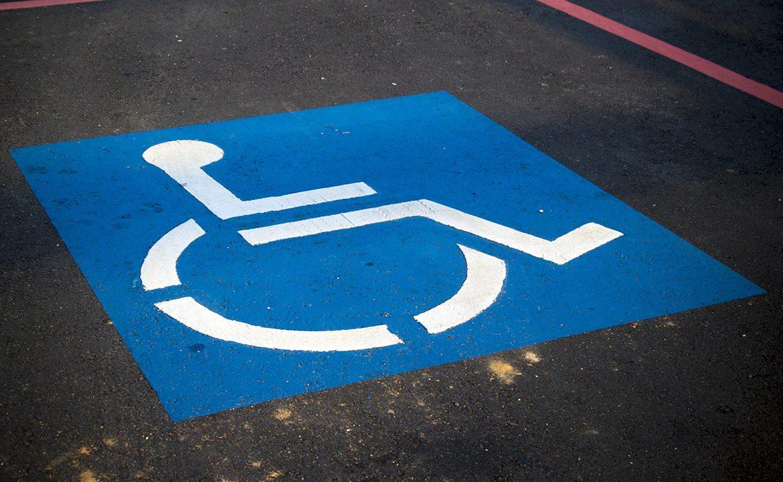 karta parkingowa, niepełnosprawność, koperta, niepełnosprawny, miejsce parkingowe dla niepełnosprawnych