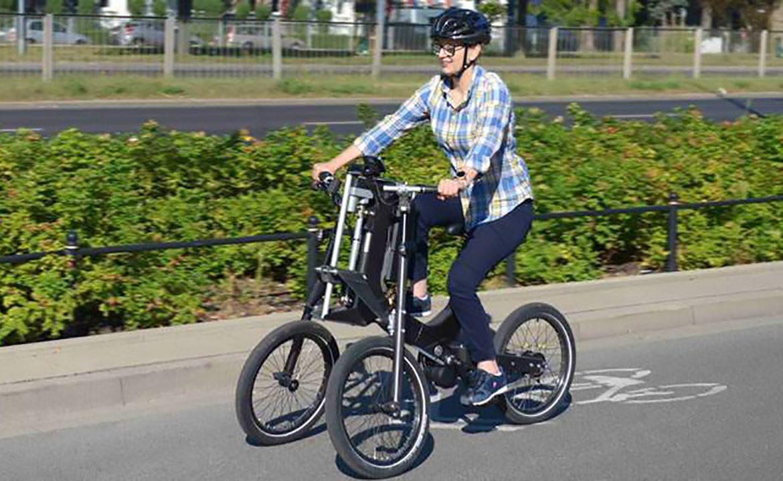 ITS, Instytut Transportu samochodowego, rower, trójkołowiec, sport, rekreacja, trójkołowiec, niepełnosprawwność, niepełnosprawny, niepełnosprawność ruchowa