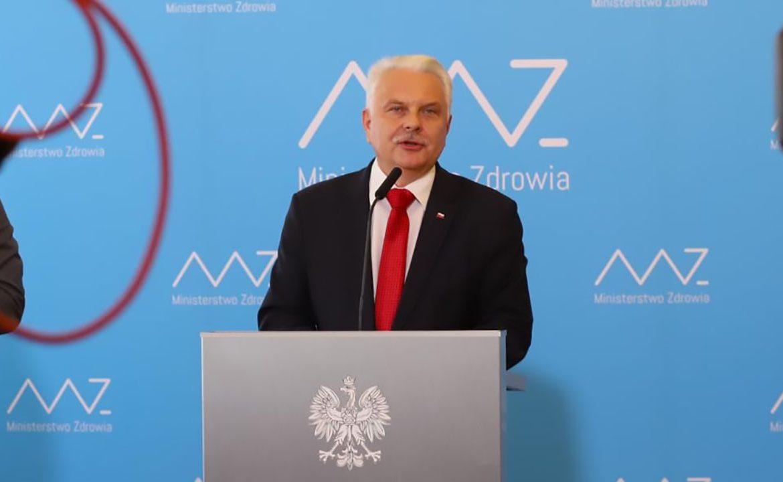 waldemar kraska, ministerstwo zdrowia, minister zdrowia, dor, koronawirus, koronawirus w polsce