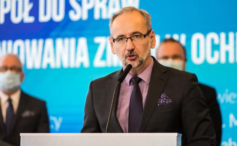 Adam Niedzielski, minister zdrowia, ministerstwo zdrowiat, strategia, zawody medyczne, personel medyczny