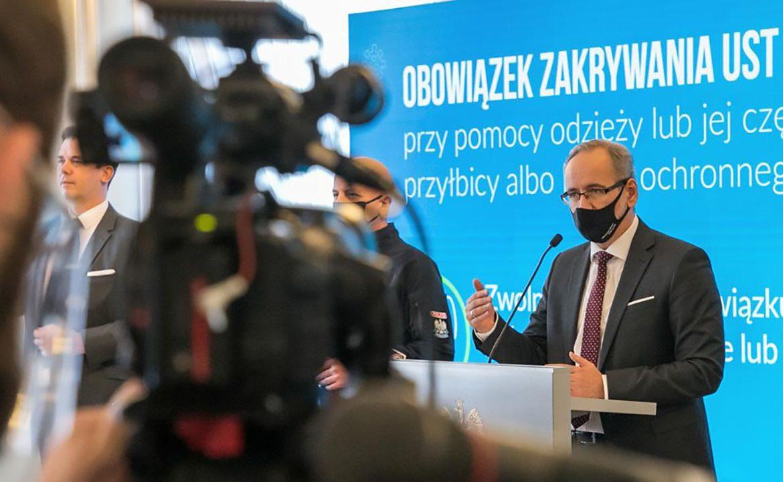 Adam niedzielski, minister zdrowia, koronawirus w polsce, koronawirus, epidemia, pandemia, covid-19
