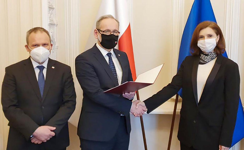 Ewa Krajewska, ministerstwo zdrowia, główny inspektor farmaceutyczny