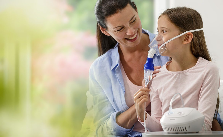 nebulizator; nebulizacja, inhalacja, dziecko, jak wybrać nebulizator; philips nebulizator
