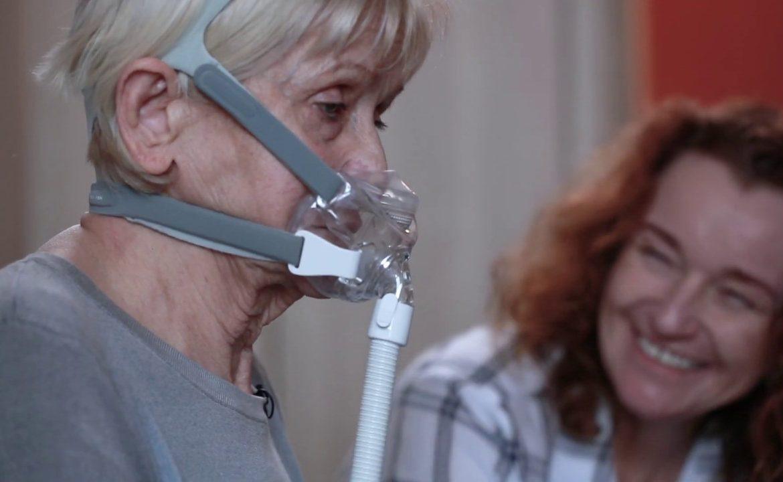 niv, wentylacja nieinwazyjna; respirator, pacjent, niewydolnosć oddechowa