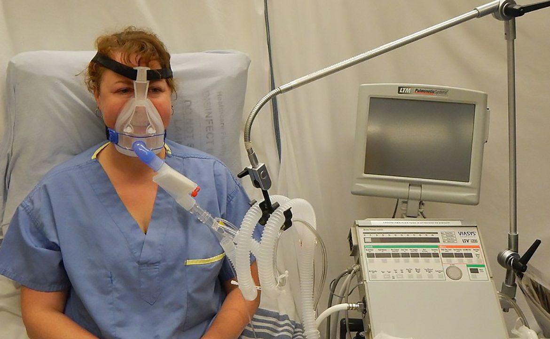 tracheostomia, maska, wentylacja inwazyjna, wentylacja nieinwazyjna, NIV, pacjent