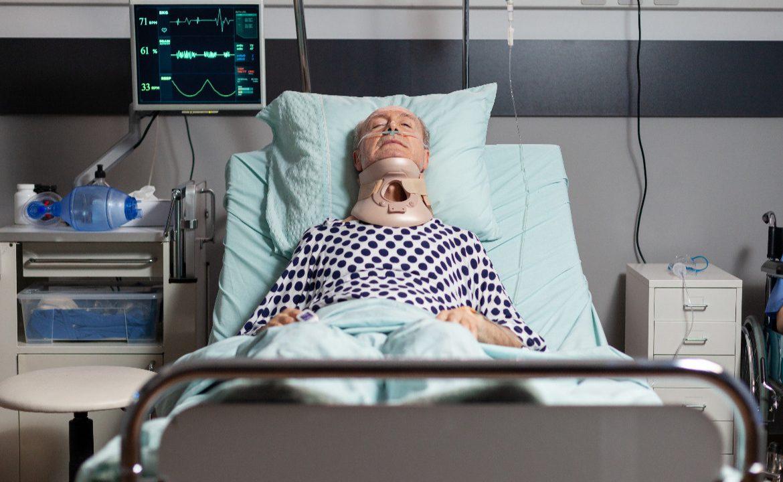 odleżyny, pacjent, unieruchomoienie, fizjoterapia